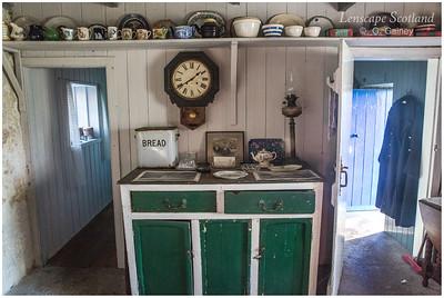 Crofting museum, Cleadale - interior