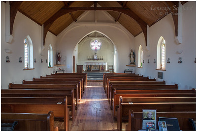 Saint Donnan's RC church - interior
