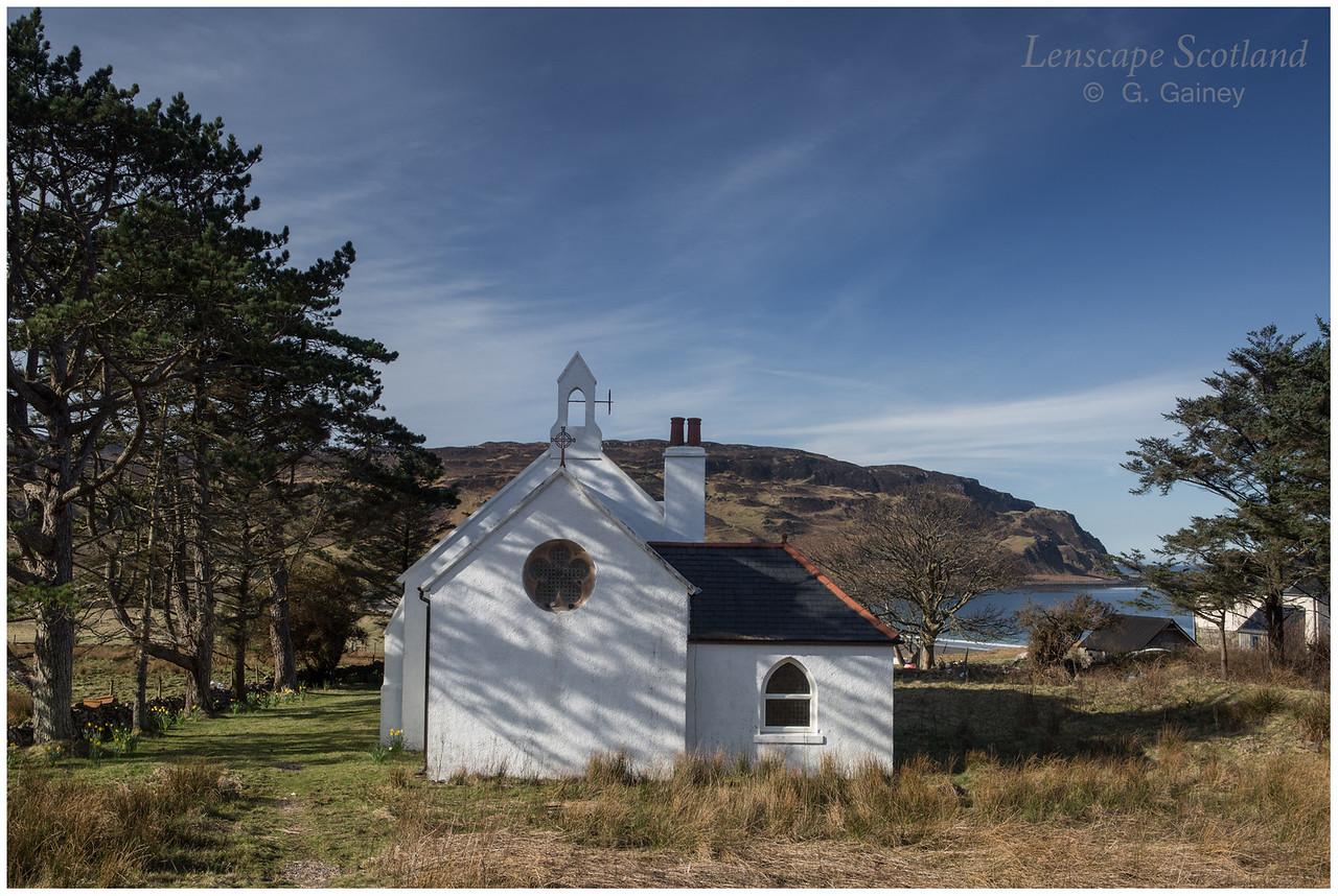 Saint Donnan's RC church, Cleadale (2)