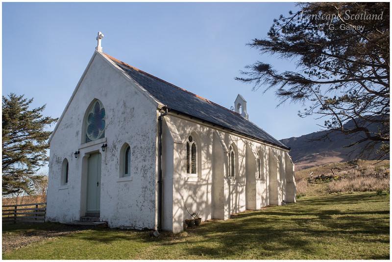Saint Donnan's RC church, Cleadale (1)