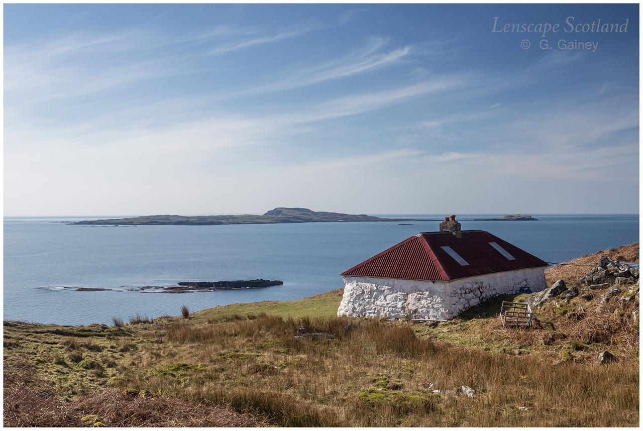 Grulin bothy and Isle of Muck
