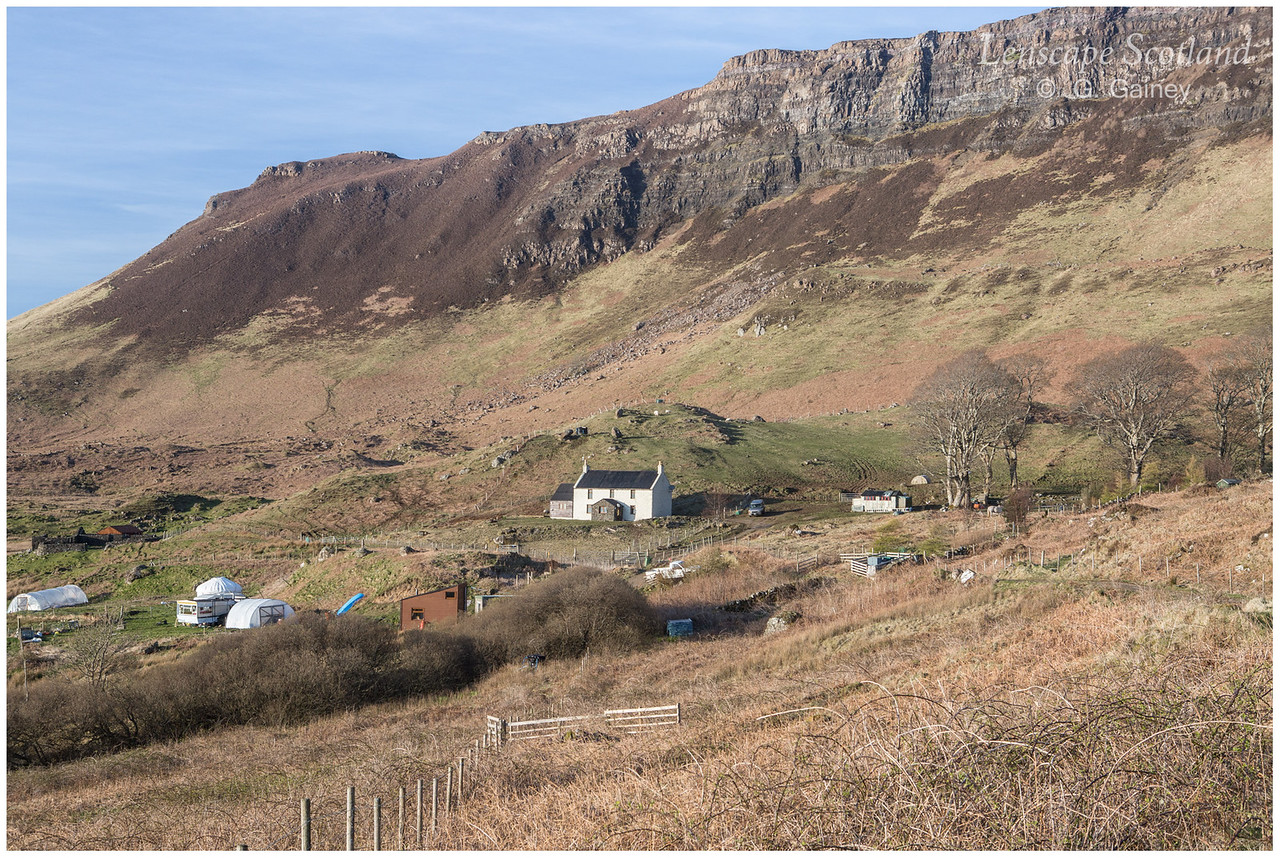 Howlin farmhouse, Cleadale