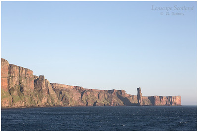 Old Man of Hoy, from the sea (2)