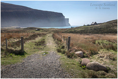 Sneuk Head cliffs and Rackwick Bay (1)