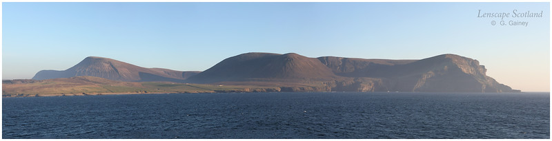 Hoy hills panorama