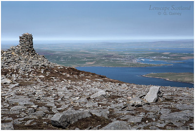 Stromness and Graemsay from Ward Hill (1)