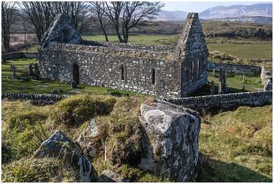 Kildalton Church and graveyard