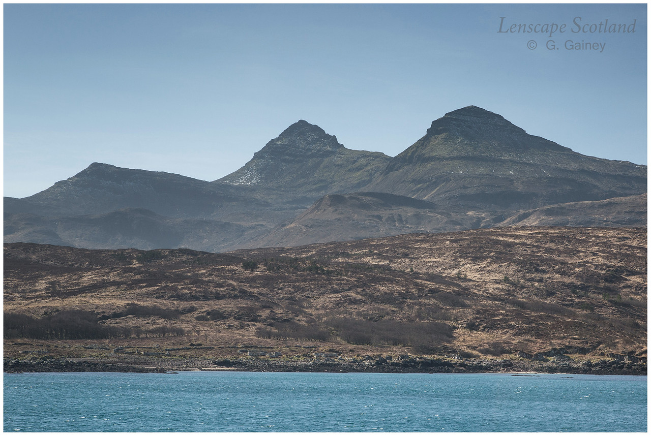 Askival and Hallival from the Small Isles ferry