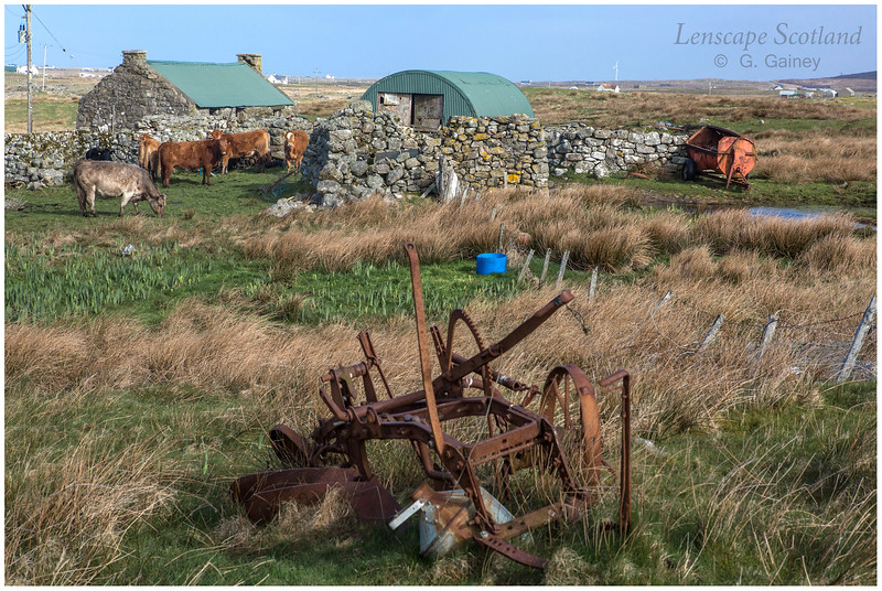 Crofting landscape, Frobost