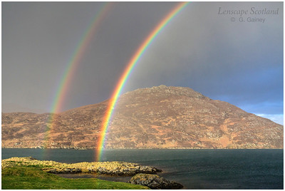 Double rainbow, Lochboisdale