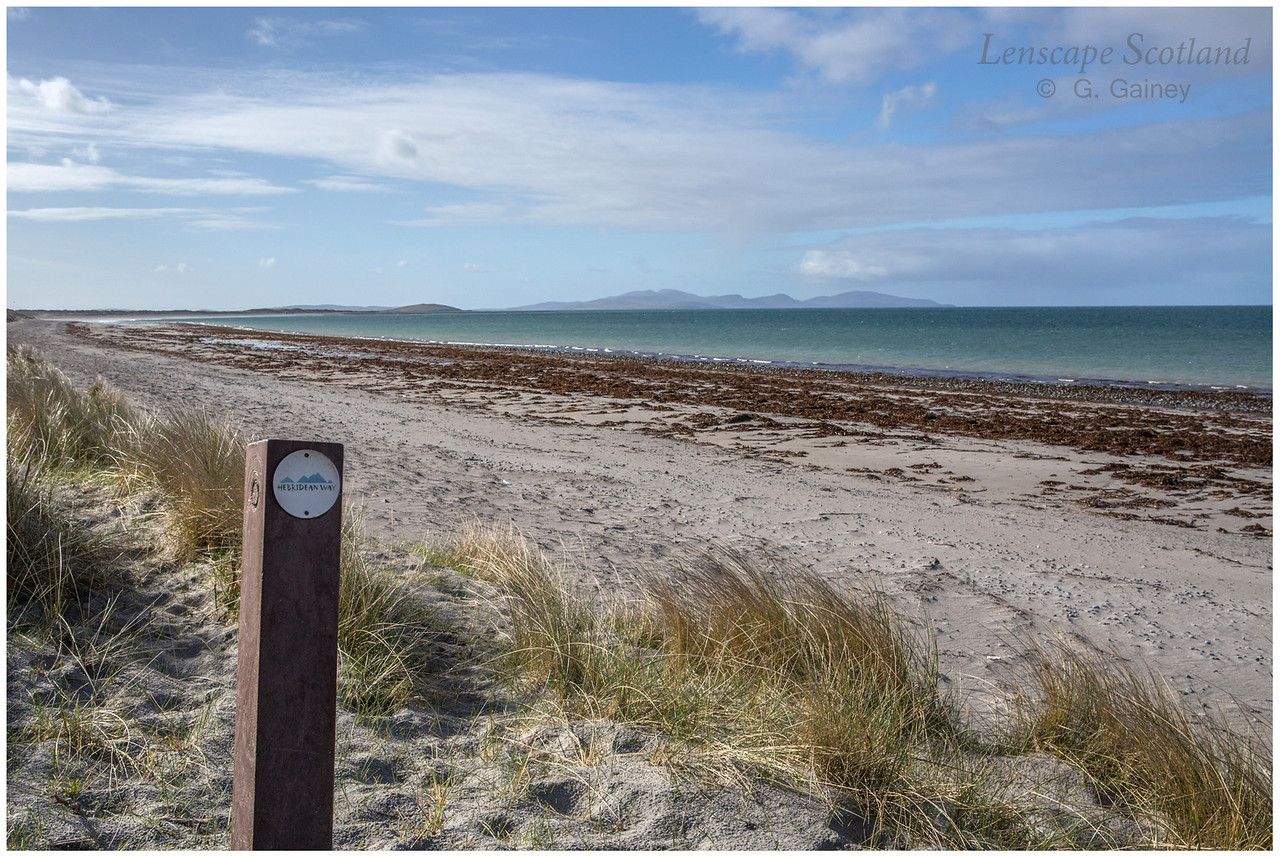 Hebridean Way (walking trail), Askernish beach