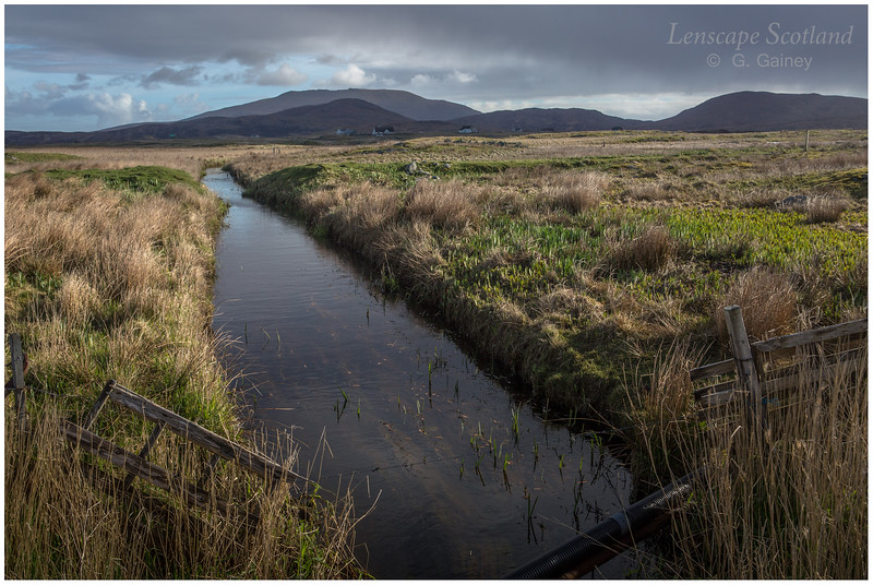 Drainage ditch, Askernish
