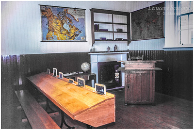 St Kilda schoolroom interior