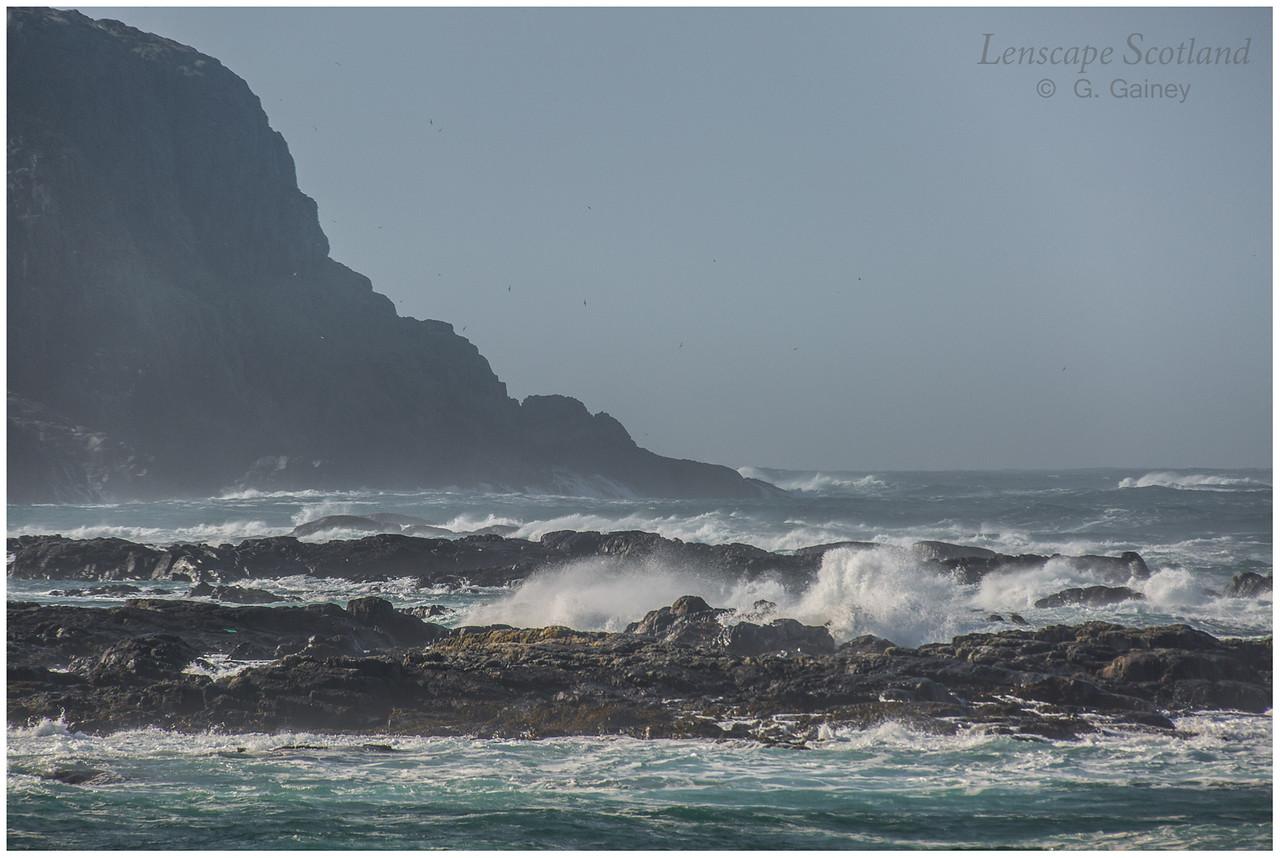 Atlantic breakers, Port Mor, Sandaig 1
