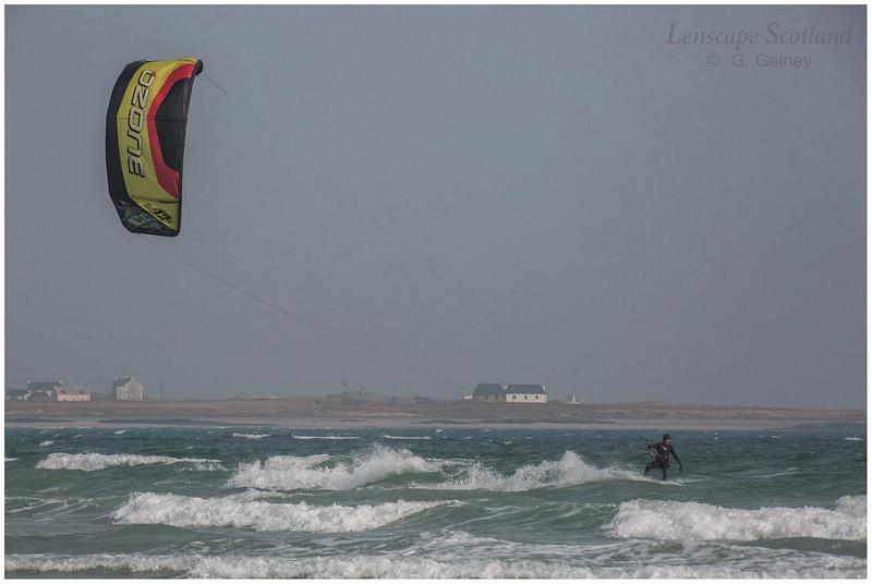 Kitesurfer, Gott Bay 1