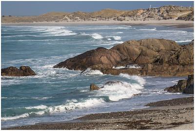 Atlantic waves, Traigh Thodhrasdail, Kilkenneth 1