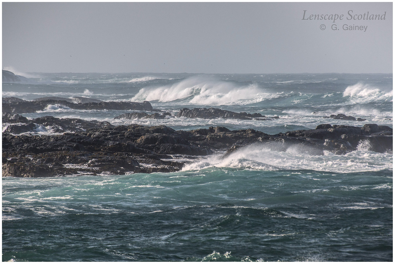 Atlantic breakers, Port Mor, Sandaig 2