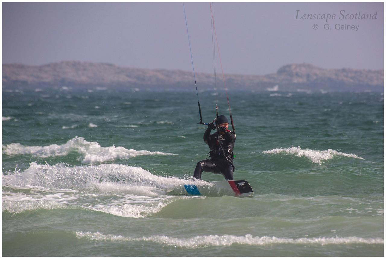 Kitesurfer, Gott Bay 3