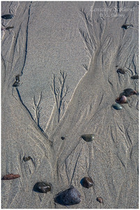 Patterns in the sand, Traigh nan Gilean