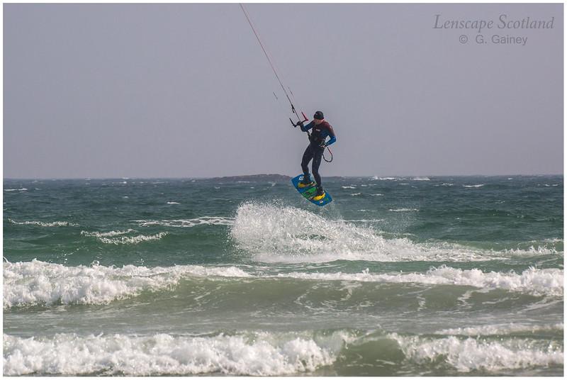 Kitesurfer, Gott Bay 2