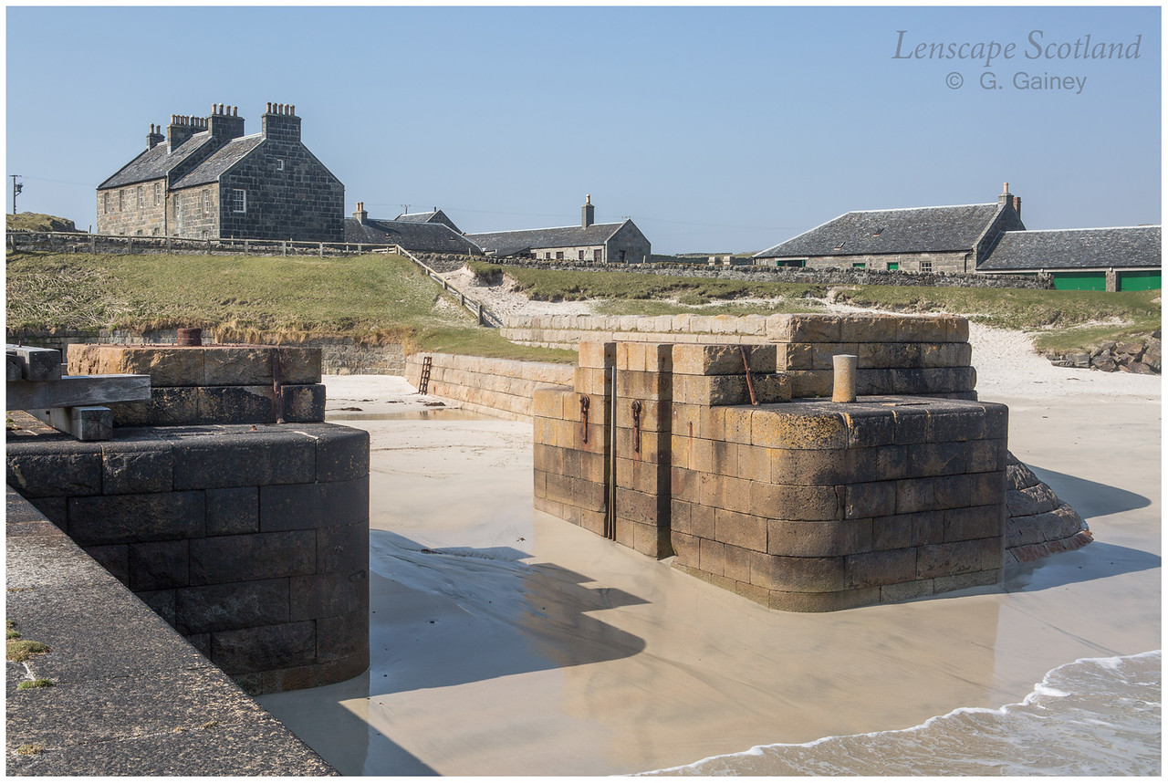 Hynish - shore base complex for Skerryvore lighthouse 2