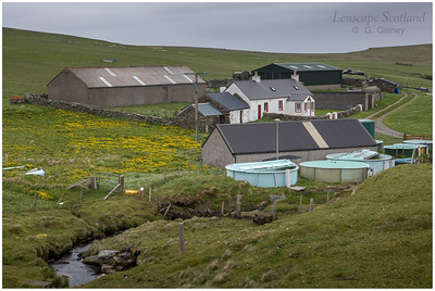 The Haa, Skaw - most northerly house in the British Isles (Unst)