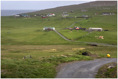 Norwick - the most northerly village in the British Isles (Unst)