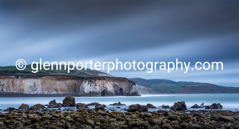 Freshwater Bay, Isle of Wight - long exposure