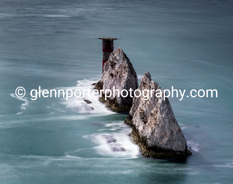 The Needles, long exposure.