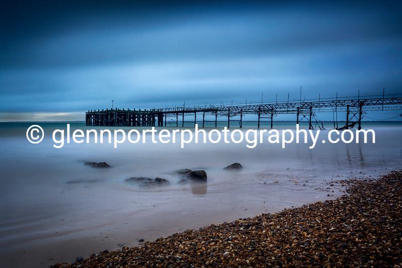 Totland Pier, Isle of Wight.