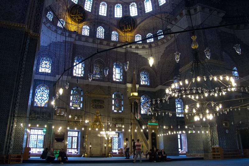 La mosquée bleue, Istanbul, Turquie