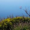 Vue du Strombolicchio (petit stromboli), Italie
