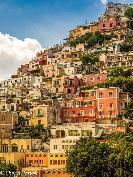 Stacked Villas, Positano, Italy