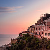 Glowing Pink, Positano, Italy