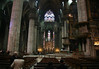 From the south transept, past the crossing at the twin pulpits - to the north transept, and the Chapel of Our Lady of the Tree - Milan Cathedral