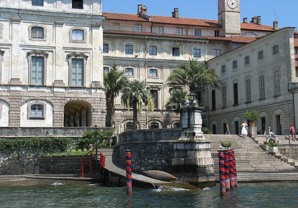 Borromeo Palace - on Isola Bella - island on Lake Maggiore