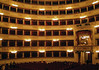 Teatro Alla Scala - opera house in Milan - consisting of > 2000 seats and 6 tiers of boxes.