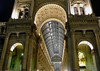 Southern triumphal arch portal and glass-vaulted roof - Galleria Vittoria Emanuele ll - Milan