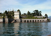 Italianate garden on the southern end of Isola Bella - one of the Borromean islands in Lake Maggiore