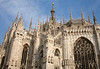 Madonnina - statue of the Virgin Mary atop Milan Cathedral