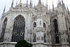 Milan Cathedral - consisting of > 3200 statues (> 2200 exterior), 135 spires, and 96 gargoyles - Milan
