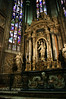 Chapel of our Lady of the Tree - in the north transept of the Milan Cathedral