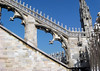 Flying buttress and spire - Milan Cathedral