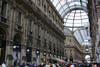 Galleria Vittorio Emanuele II - the longer walkway measures 643 ft. (196 m) long - Milan