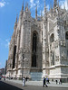 Milan Cathedral - constructed of Candoglia marble (quarried near Lake Maggiore, northwestern Italy, near the Switzerland border)