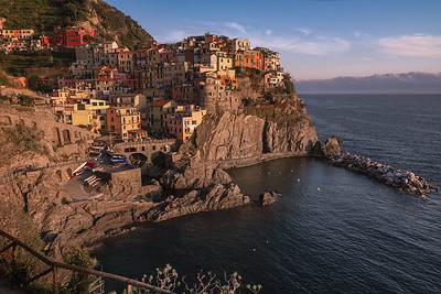 Manarola by Sunset