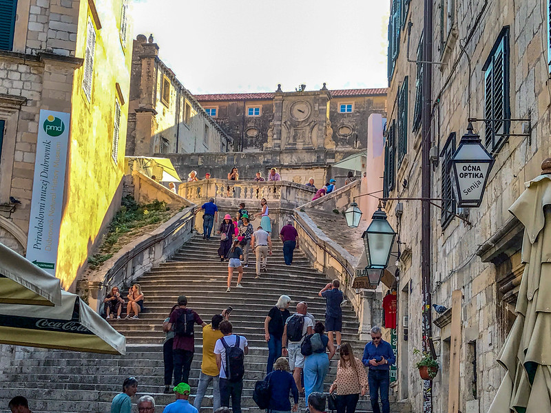 Jesuit Stairs - Dubrovnik's Spanish Steps in Old Town