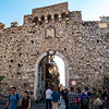 Entrance to old town Taormina