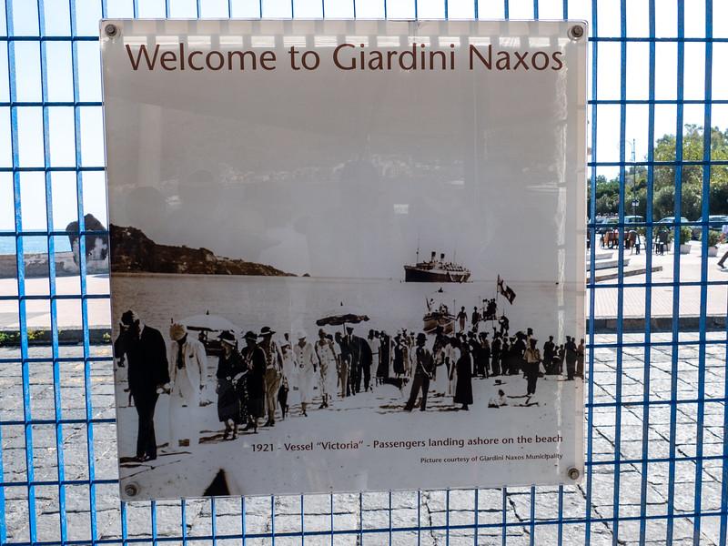 Giardinini Naxos, Sicily - October 20, 2019