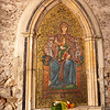 Mosaic of the Madonna & Child - Porta di Mezzo